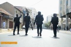 policiers senegal