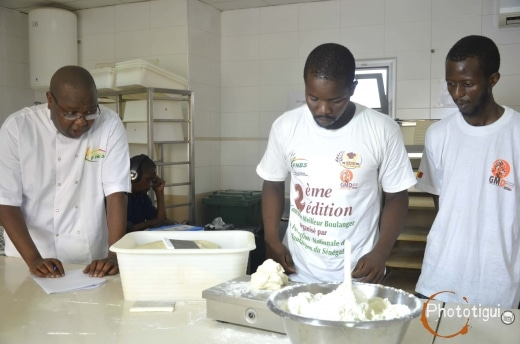 Concours nationale boulanger au senegal