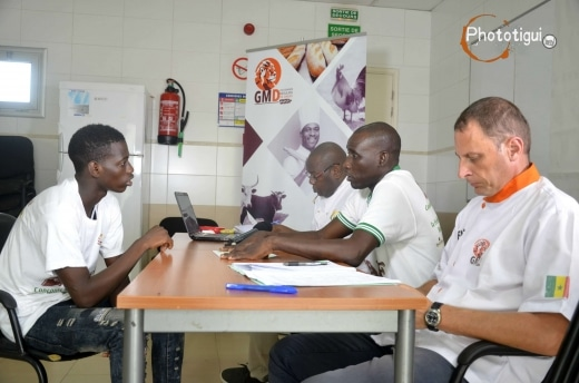 photo du jury concours des boulangers du senegal