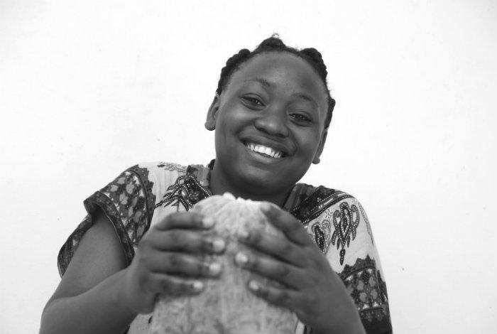 portrait jeune fille africaine